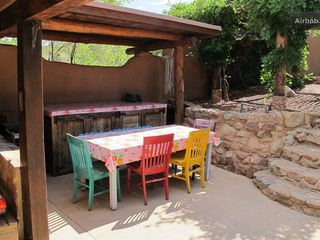 Santa Fe house photo - Patio dining