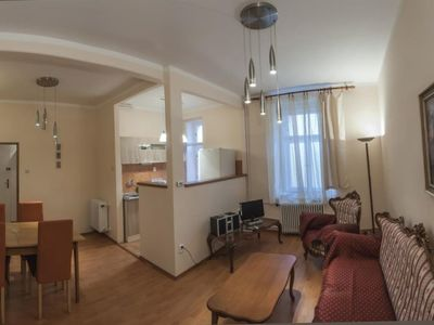 Luxury apartment for 1-4 persons in Prague 68sqm - Two Bedroom Apartment, Sleeps 4