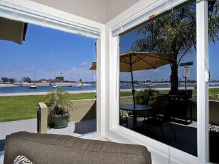 Mission Beach apartment photo - Beautiful views from living, dining and kitchen area
