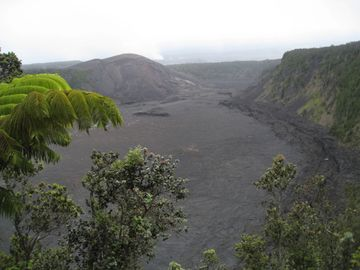 Hiking in Volcano's National Park