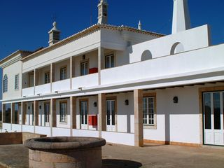 Ferragudo house photo - Casa da Infanta - south facing view of the house and terrace