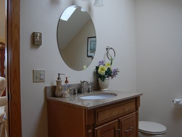 Half Bath with New Vanity