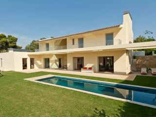 The house from the garden - Estoril villa vacation rental photo