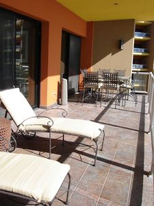 Puerto Penasco condo rental - Spacious Patio