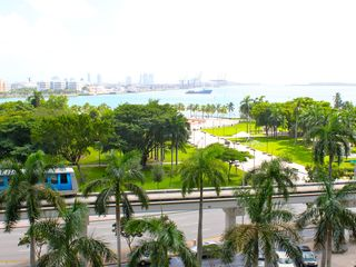 Miami condo photo - View of Biscayne Bay and Bayfront Park from suite