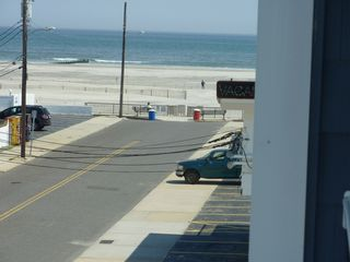 Wildwood Crest condo photo - ocean view from balcony