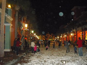 Snowtime at Disney