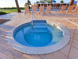 Ormond Beach condo photo - An outdoor heated jacuzzi? Yes, we have that!