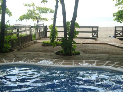 see the ocean from your lounge pool!!!