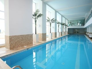 Cupecoy condo photo - Olympic size (25m) indoor lap pool