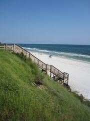 Seacrest Beach condo photo - Stairs down to the beach, just steps from your door.
