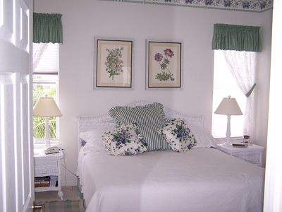 Fort Myers Beach condo rental - Master King quality supportive firm mattress.