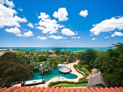 Tamarindo townhome rental - Your 80 feet above a wondrous 10,000 S.F. pool with swim up bar.