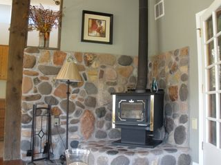 Sedona house photo - Woodburning stove - great for cold winter nights
