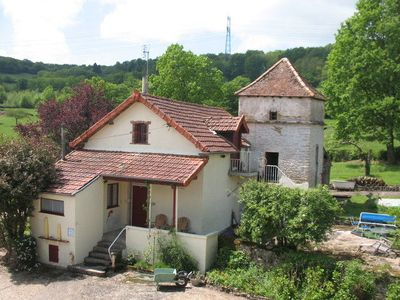 Detached cottage near Cluny and Taize.