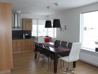 Northwest Iceland apartment photo - Kitchen and dining area - Apartment 2