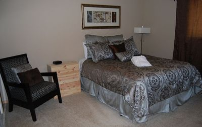 Jr. Suite with Queen bed and private bath