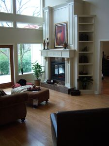 Hot Springs house rental - Living Room