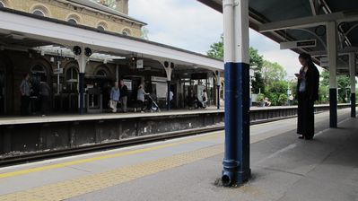 Richmond & Kew apartment rental - Kew Gardens station where you can take the District Line tube