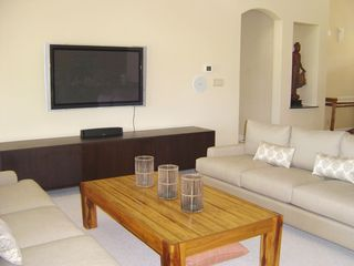 Ko Olina estate photo - Living Area with Large Flat Screen TV