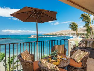 Maalaea condo photo - Life doesn't get any better than this!