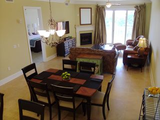 Living and Dining Area - Santa Rosa Beach condo vacation rental photo