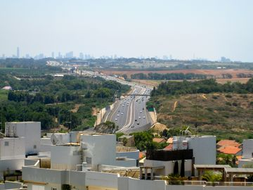 south view to Tel Aviv