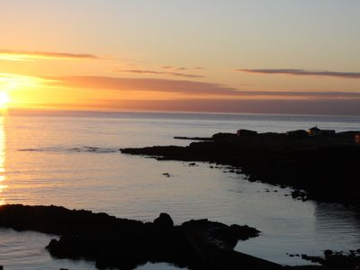 Northwest Iceland cottage rental - Sunset at the shore