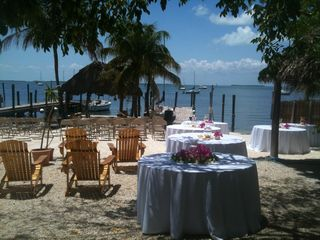 Key Largo cottage photo - We also do weddings in a beautiful Florida Keys setting by the water...