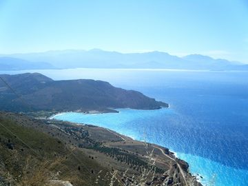 View from Makrygialos