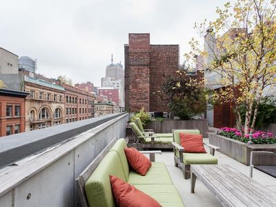 Unique and architecturally chic abode in Tribeca