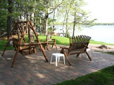 Lake Side Patio/ Firepit