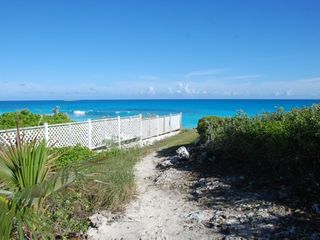 Great Exuma house photo - Stroll from the back door to the beach ...