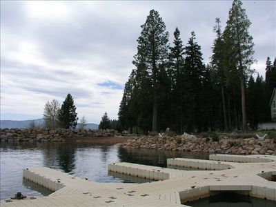 Docks and swimming area