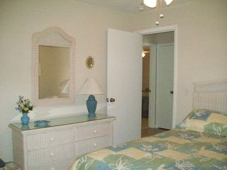 Fort Myers Beach house photo - Another bedroom with a queen size bed on the back side of the house