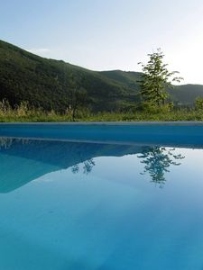 Castelnuovo Di Farfa: Great villa with private swimming pool and garden, north of Rome
