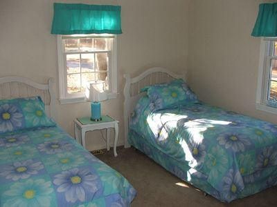 West Yarmouth house rental - Bedroom with twins