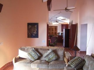 Ambergris Caye house photo - Living Room and Hall