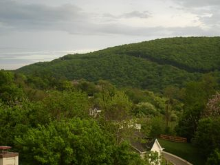 Harpers Ferry house photo - View of Loudoun Heights from Loft Bedroom