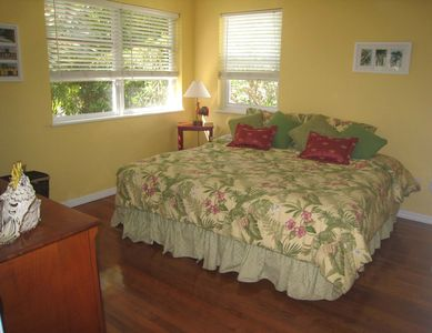 Key West house rental - Second Bedroom - Shown with King Bed