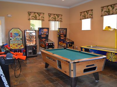 Games Room at the Clubhouse