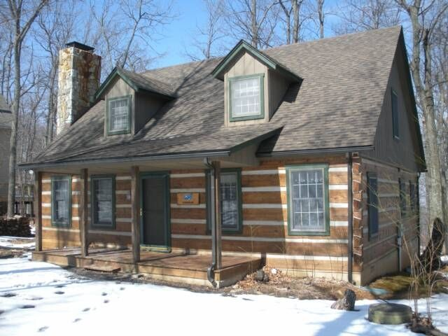 Beautiful Log Cabin Home HomeAway Wintergreen