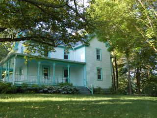 Wytheville farmhouse photo - The original Victorian farmhouse was built in 1910 and is completely updated.