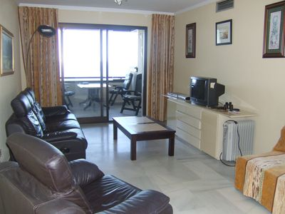 Exclusive frontline apartment +WIFI and English TV channels