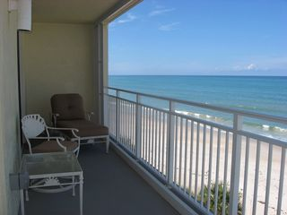 Indian Harbour Beach condo photo - Stretch out and relax on your private balcony