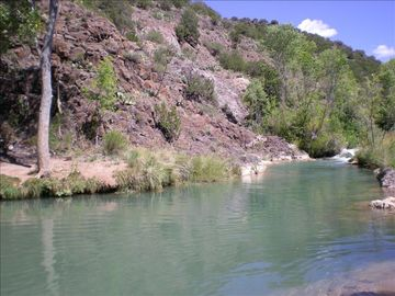 several places to enjoy the water within 10 miles (this is fossil creek) fun4all
