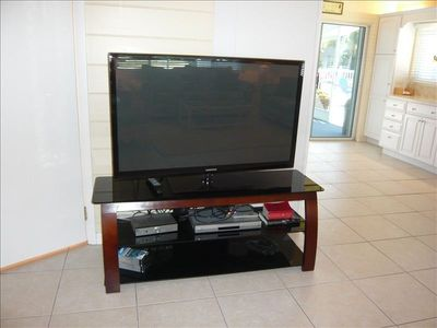 Large Flat-Screen TV