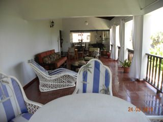 Puerto Plata villa photo - 2nd floor open air balcony where its everyone favorite hangout spot