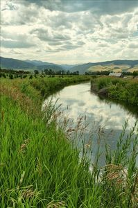 Irrigation Canal adjacent to Aspen Grove