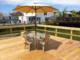 Wildwood bungalow photo - New Large Deck